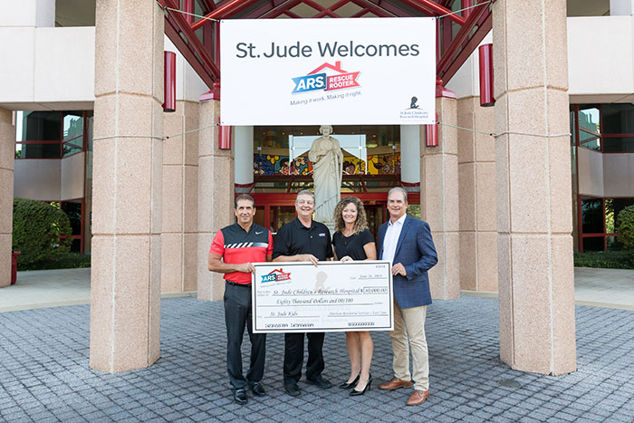 ARS presenting check to St. Jude